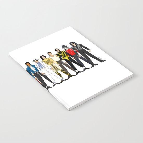 King MJ Pop Music Fashion LV Notebook