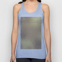 Simply Metallic in Antique Gold Unisex Tank Top