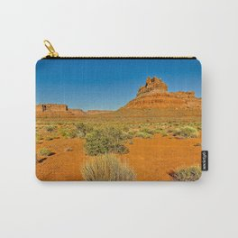 A formation in Valley of the Gods Utah called Battleship Rock. Carry-All Pouch