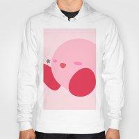 kirby Hoodies featuring Kirby(Smash) by ejgomez