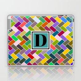 D Monogram Laptop & iPad Skin