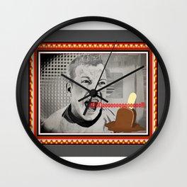 MELTDOWN-CAPT. KIRK Wall Clock