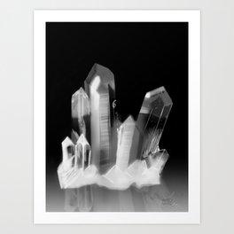 Crystal Cluster, no. 3 Art Print