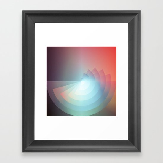 Fades Framed Art Print