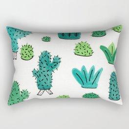Cactus Don't Shave Rectangular Pillow