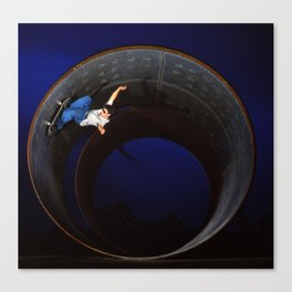 Bam - full pipe 99 Canvas Print