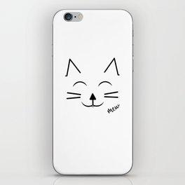 Happy Cat iPhone Skin
