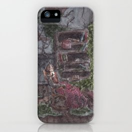 Patiently Waiting iPhone Case