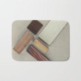 Soft Maple-Cocobolo Wood Bath Mat