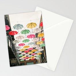 Ireland Dublin | Colorful street photography | Umbrella's Stationery Cards