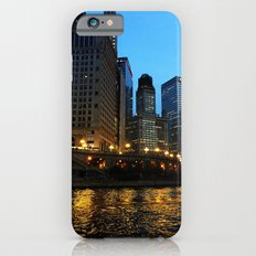 Chicago River and Buildings at Dusk Color Photo Slim Case iPhone 6s