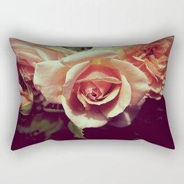 VINTAGE ROSE BLOSSOM II Rectangular Pillow