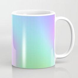 Soft Gradient Design (Pastel Pink, Purple, Blue, and Green) Coffee Mug