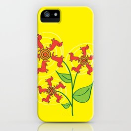 Doxie Flower iPhone Case