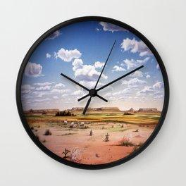 Bluffs2 Wall Clock