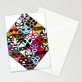 LUCHA---LIBRE Stationery Cards