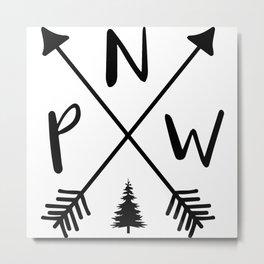 Pacific Northwest Metal Print