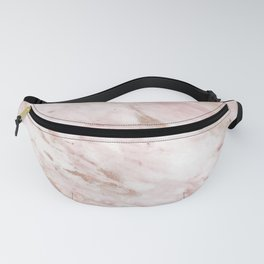 Pink marble - rose gold accents Fanny Pack