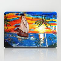 pirates iPad Cases featuring PIRATES by Aat Kuijpers