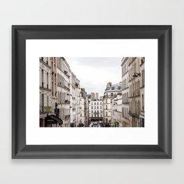 Montmartre View of Paris  Framed Art Print