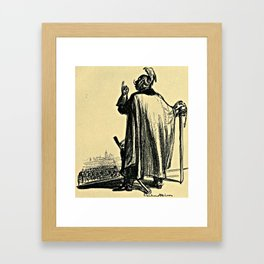 I Believe in the Sword and Almighty God  Framed Art Print