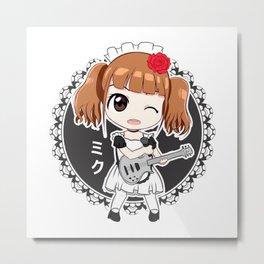 Miku - Band-Maid Metal Print