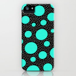 Galactic dots 2.0 iPhone Case