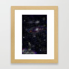 This Life Is Beautiful, With the Colors of The Universe Framed Art Print
