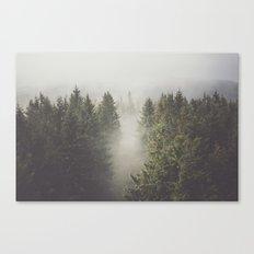 My misty way Canvas Print