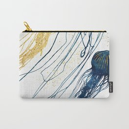 Metallic Jellyfish II Carry-All Pouch