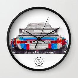 BMW 3.0 csl Martini Livery. Wall Clock