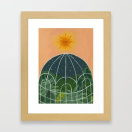 The Captive Night Framed Art Print
