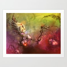 Cupid's Treasure Art Print