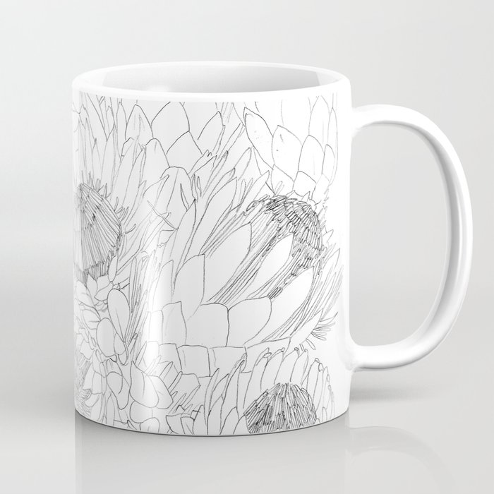 King And Queen Proteas Coffee Mug