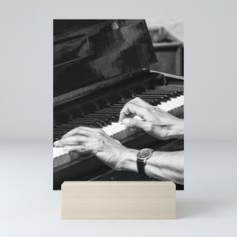 Play the Piano Mini Art Print