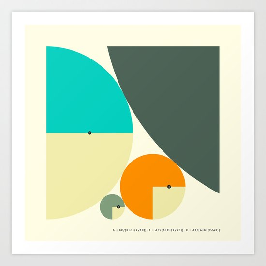 DESCARTES' THEOREM Art Print