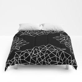 Geometric Pattern IX Comforters