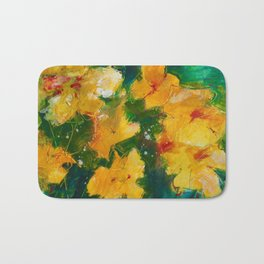 Party Pansies Bath Mat