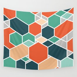 Hex P Wall Tapestry