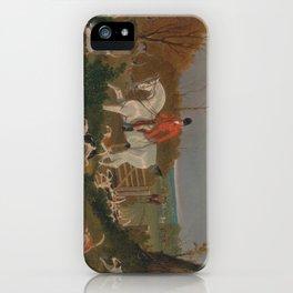 The Suffolk Hunt - John Frederick Herring iPhone Case