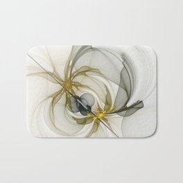 Together We Are Strong, Abstract Fractal Art Bath Mat