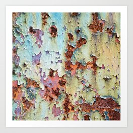 Abstract Paint Art Print