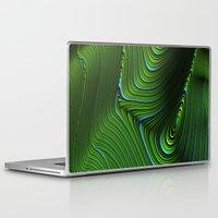 malachite Laptop & iPad Skins featuring Malachite by Vix Edwards - Fugly Manor Art