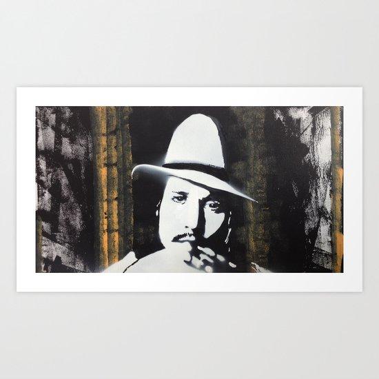 Depp Art Print