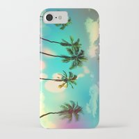 palm trees iPhone & iPod Cases featuring Palm trees  by mark ashkenazi