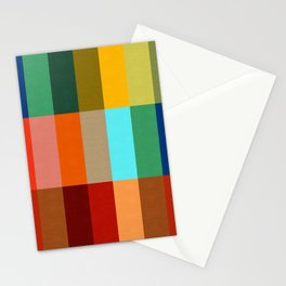 Abstract and colorful pattern Stationery Cards