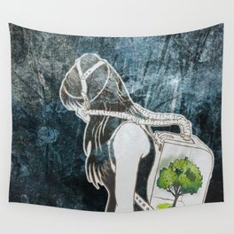 The Last Breath on Earth(SAVE THE FOREST)  Wall Tapestry