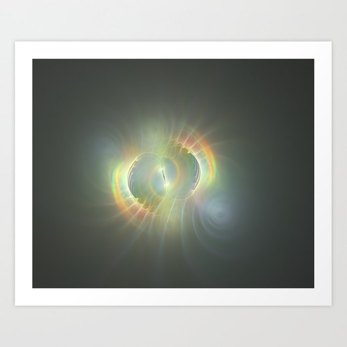 Abalone Wormhole Art Print