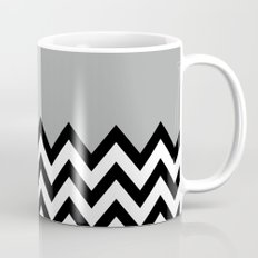 GRAY COLORBLOCK CHEVRON Mug