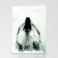 howl Stationery Cards featuring HOWL by Joelle Poulos